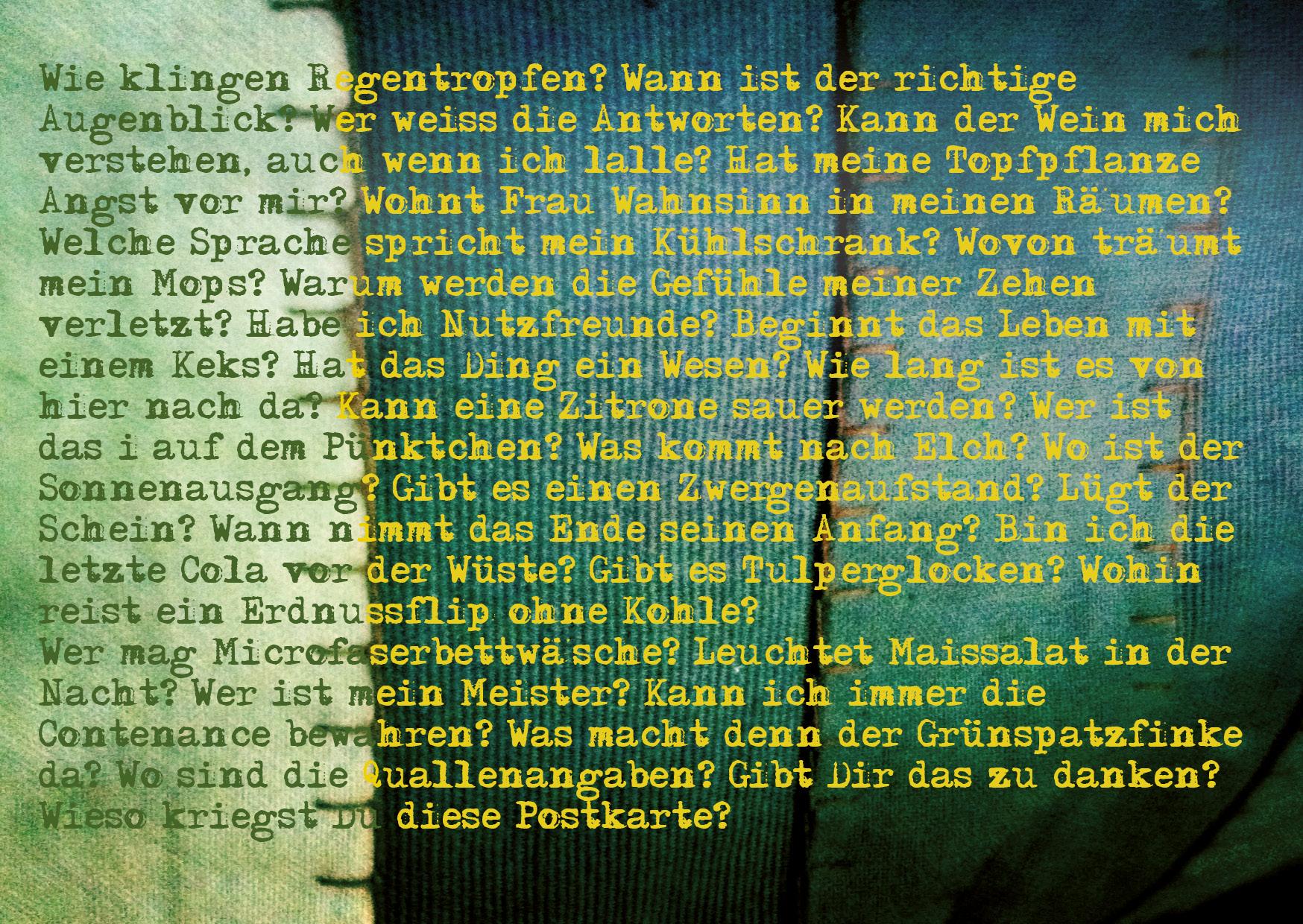 """Zwischen Privatalm und Traumfabrik oder """"Die Postkarte lebt"""""""