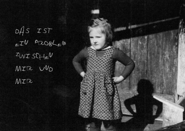 Das ist ein Problem zwischen mir und mir